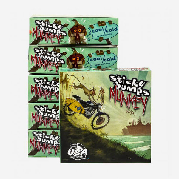Boardwax Sticky Bumps, Munkey cool/cold